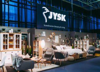 JYSK на выставке EXPO MOBILA 2018