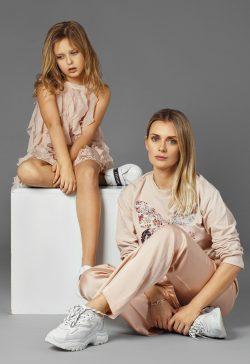 Ирина Беспалюк и дочь Анастасия в проекте FCODE