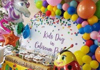 Детский праздник в Coliseum Palase