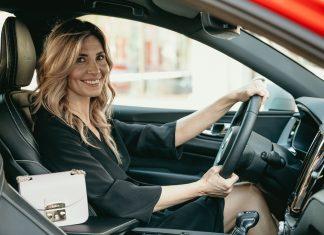 Яна Домбровская: test-drive Volvo