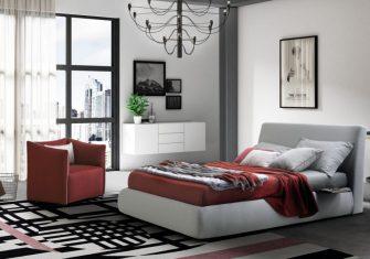 итальянские кровати в салоне domino