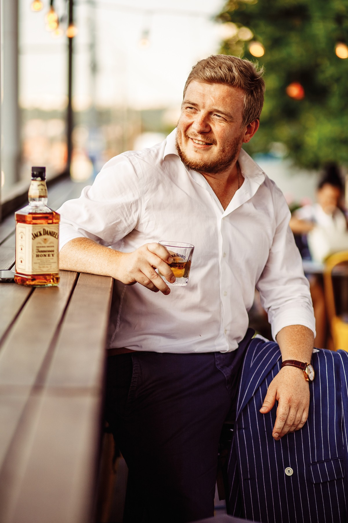 Алексей Ботнарчук, встреча без wi-fi c Jack Daniel's Tennessee Honey