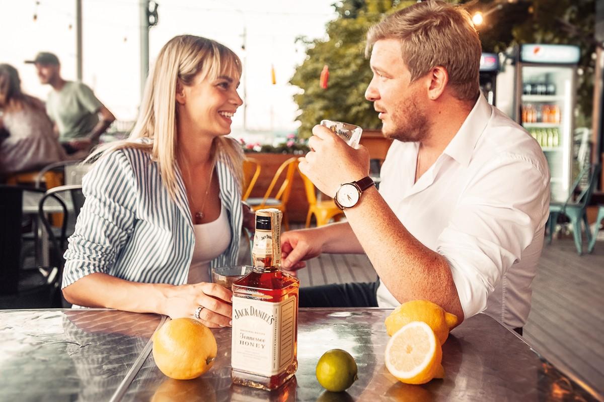 Маша Шиверских, встреча без wi-fi c Jack Daniel's Tennessee Honey