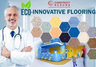 eco floor медицинские напольные покрытия