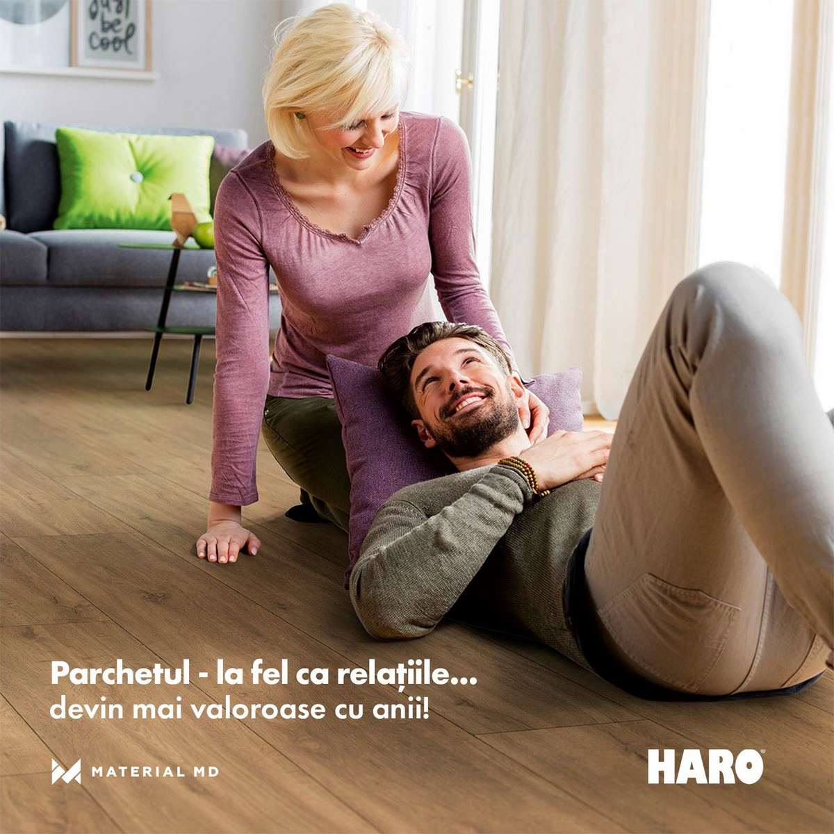 material md паркет HARO